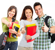 студенты стоковое фото