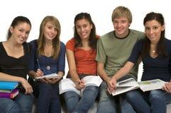 студенты Стоковая Фотография