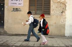 студенты kirkuk Стоковое Изображение