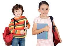 студенты lovables детей Стоковое Фото