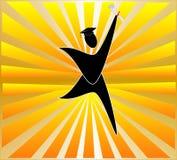 студент-выпускники поздравлениям Стоковая Фотография RF
