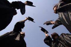 студент-выпускники Стоковые Изображения RF
