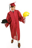 студент-выпускник выбора карьеры Стоковое Фото