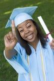 студент-выпускник девушки Стоковые Изображения RF