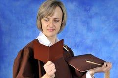 студент-выпускник диплома Стоковая Фотография