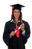 студент-выпускник женщины Стоковая Фотография RF