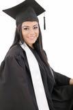 Студент-выпускник женщины Стоковое Фото