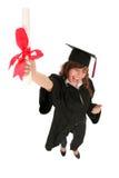 студент-выпускник женщины Стоковое фото RF