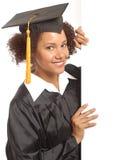 студент-выпускник знамени Стоковое фото RF