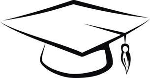 студент-выпускник крышки Стоковые Фотографии RF