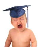 студент-выпускник младенца Стоковое Фото