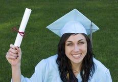 студент-выпускник Стоковые Изображения RF