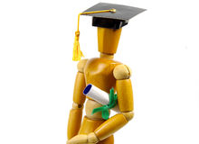 студент-выпускник Стоковое Изображение RF