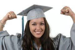 студент-выпускник Стоковое фото RF