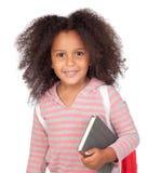 студент девушки маленький стоковое фото