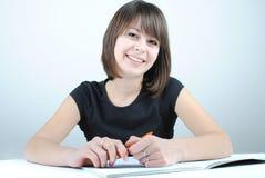 студент девушки Стоковое Фото