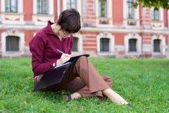 студент девушки Стоковое фото RF