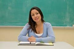 студент классн классного передний сидя Стоковые Изображения RF
