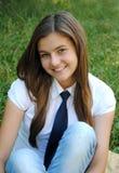студент красивейшей девушки ся Стоковые Фото