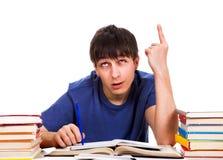 студент перста вверх Стоковое Изображение RF