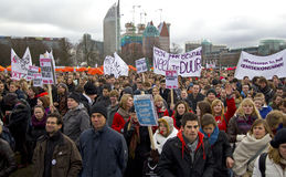 студент протеста Стоковое фото RF