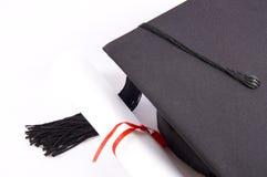 студент шлема диплома Стоковые Изображения RF