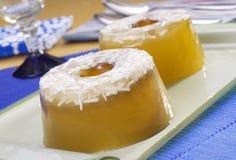 студень десерта кокоса Стоковое Изображение