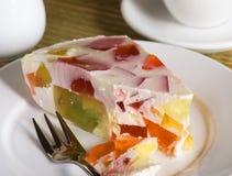 студень торта Стоковая Фотография RF