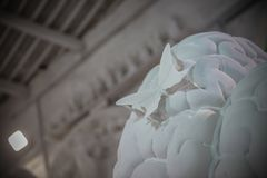 Студии скульптуры Nicoli, Каррара, Италия Стоковая Фотография