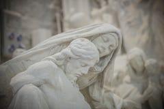 Студии скульптуры Nicoli, Каррара, Италия Стоковое Фото