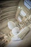 Студии скульптуры Nicoli, Каррара, Италия Стоковое фото RF