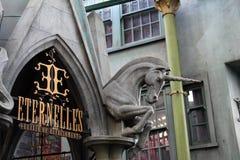 Студии Universal Гарри Поттера деталей Стоковое фото RF