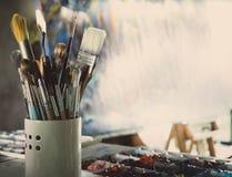 Студия искусства стоковое изображение
