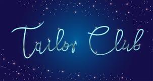 Студия моды логотипа Изготовленная на заказ handmade каллиграфия, литерность щетки вектора для салона моды бесплатная иллюстрация