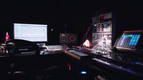 Студия музыки звукового производства видеоматериал