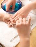студия ногтя Стоковые Изображения RF