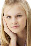 студия портрета девушки подростковая стоковая фотография rf