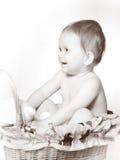 студия портрета младенца Стоковая Фотография RF