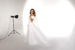 студия портрета невесты установленная стоковые изображения