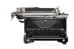 Студия сняла машины старого типа печатая на машинке Стоковое фото RF