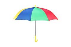 Студия снятая зонтика colorfull Стоковые Изображения