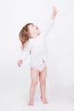 студия porrait ребенка милая Стоковая Фотография