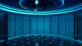 Студия TV Стоковые Изображения RF
