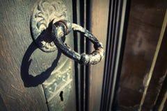 стук двери Стоковая Фотография