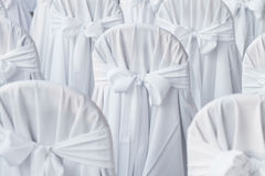 Стулы венчания Стоковые Изображения RF