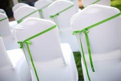 Стулы венчания Стоковые Фотографии RF