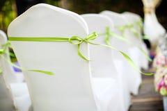 Стулы венчания стоковое изображение rf