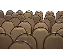 стулы опорожняют залу стоковая фотография rf