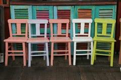 стулы опорожняют Стоковое Изображение RF