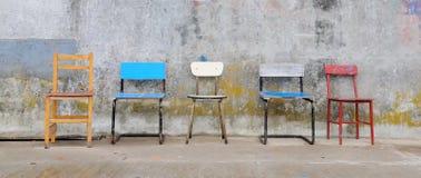 стулы опорожняют Стоковое Фото